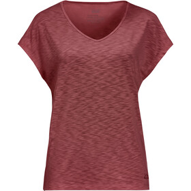 Jack Wolfskin Travel Tee Women, auburn